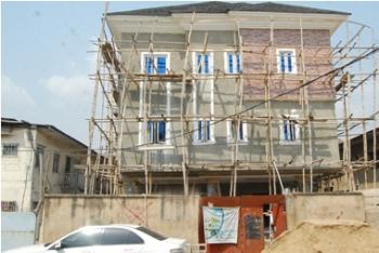 3 Units of 4 Bedroom Terraces, Ogugade Okuneye, Mende, Maryland, Lagos, Terraced Duplex for Sale