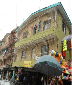 2 Story Building at Adeneji Adele, Adeniji Adele, Lagos Island, Lagos, Block of Flats for Sale