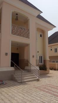 Newly Built Fully Detached 5 Bedroom Duplex with 2 Rooms Self-contained Servant Quarter, By Ipaint7, Karsana, Abuja, Detached Duplex for Rent