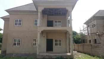 Fully Detached 4 Bedroom Uncompleted Duplex  with Bq Space, After Brains and Hammer, Apo, Abuja, Detached Duplex for Sale