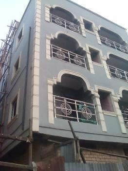 Newly Built 2 Bedroom Flat, Off Borno Way, Ebute Metta East, Yaba, Lagos, Flat / Apartment for Rent