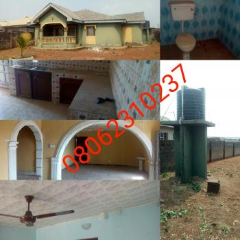 3 Bedroom House, Ire Akari Street, Onihale Bus Stop, Onihale Ifo, Lagos—abeokuta Express, Ifo, Ogun, Detached Bungalow for Sale