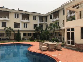 Semi Furnished Luxury 4 Bedroom Terraced Duplex + 1 Room Bq, Dew of Hammonds Court, Banana Island, Ikoyi, Lagos, Terraced Duplex for Rent