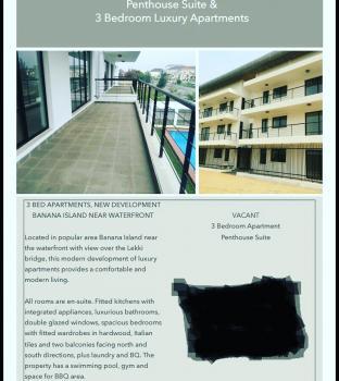 Luxury 3 Bedroom Penthouse, Banana Island, Ikoyi, Lagos, Flat for Rent