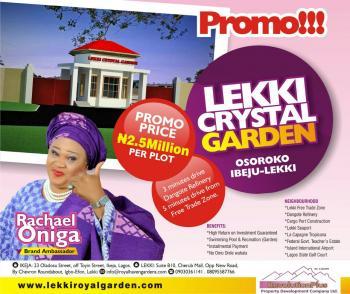Beautiful Affordable Plot, Cherrywood Drive, Oshokoro, Iberekodo, Ibeju Lekki, Lagos, Mixed-use Land for Sale
