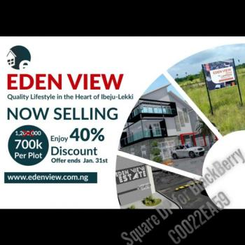 Eden View Estate, 5 Minutes After Lacapaign Tropicana Resort, Mosere Ikoga, Ibeju Lekki, Lagos, Mixed-use Land for Sale
