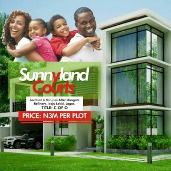 Introducing Sunny Land Courts Ibeju Lekki, a Worthwhile Investment, Valifero Road, Iberekodo, Ibeju Lekki, Lagos, Mixed-use Land for Sale