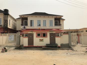 Well Built and Spacious 4 Bedroom Fully Detached House with a Room Bq, Ikota Villa Estate, Lekki, Lagos, Semi-detached Duplex for Sale