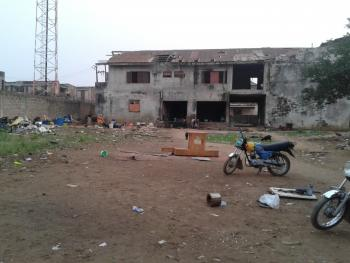 Fenced 4 Plots of Land with a Building @ Egbe-idimu;  #45m (asking), Egbe, Lagos, Mixed-use Land for Sale