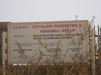 Estate Plot for Bungalow, Amsco Estate, Before Suncity, Galadimawa, Abuja, Land for Sale