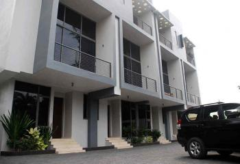 Newly Built 4 Units of 3 Bedroom Luxurious Terraces with a Room Boys Quarters + Study (2-unit Left), Off Glover Road, Old Ikoyi, Ikoyi, Lagos, Terraced Duplex for Rent