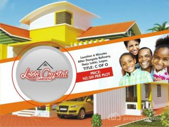 Great Land Investment Opportunity - Land with C of O Lekki Crystal Gardens, Orimedu, Ibeju Lekki, Lagos, Residential Land for Sale