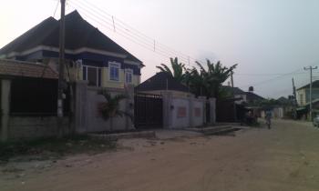 Large 3 Bedroom Semi-detached Duplex, Along Farm Road 2, Eliozu, Port Harcourt, Rivers, Semi-detached Duplex for Rent