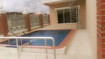 Serviced 4 Bedroom + 1 Room Bq Terrace Duplex, Abiola Court Estate, Agungi, Lekki, Lagos, Terraced Duplex for Rent