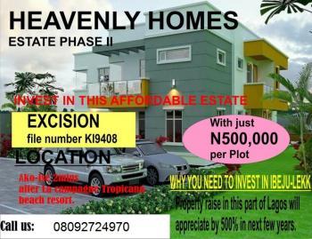 Land, Heavenly Homes Estate, Ogogoro, Ibeju Lekki, Lagos, Mixed-use Land for Sale
