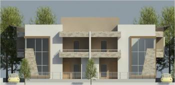 Flamboyant 4 Bedroom Semi-detached, Osborne Phase 2, Osborne, Ikoyi, Lagos, Semi-detached Duplex for Sale