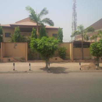 Massively Built 10 Bedroom Mansion with 3 Rooms Boys Quarters + Gate House + 1 Bedroom Guest Chalet, Along Ladoke Akintola Boulevard Way, Area 11, Garki, Abuja, Detached Duplex for Sale