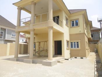 4 Bedroom Duplex with 2 Lounge + Bq, Behind War Collage, Gwarinpa Estate, Gwarinpa, Abuja, Detached Duplex for Sale