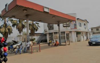 Functional Filling Station with 4 Nozzle Pumps, Egebda, Ipaja, Lagos, Filling Station for Sale