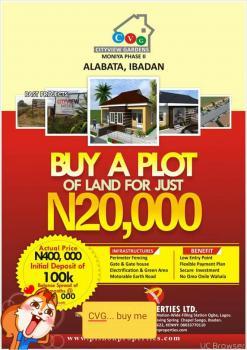 City View Gardens, Ijaiye/iseyin Road, Alabata, Akinyele, Oyo, Residential Land for Sale
