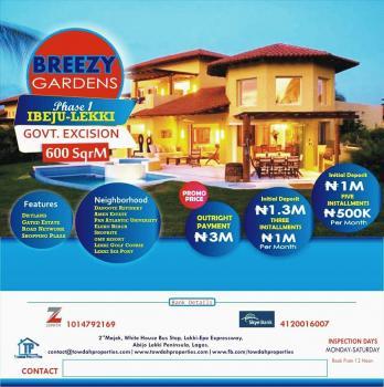 Breezy Gardens Phase 1 & 2, Lekki-epe Expressway, Epe, Lagos, Residential Land for Sale