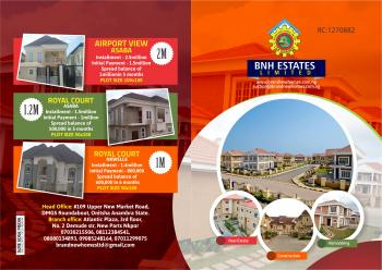 Affordable Plots of Land Measuring 450sqm, 109 Upper New Market Road, By Dmgs Round About, Onitsha, Anambra, Residential Land for Sale