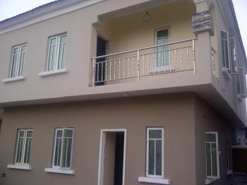 Nicely Built 4 Bedroom + 1 Room Semi Detach Duplex, Thomas Estate, Thomas Estate, Ajah, Lagos, Detached Duplex for Sale