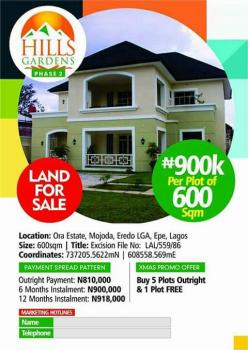 Hills Gardens Phase 2, Epe, Lagos, Residential Land for Sale