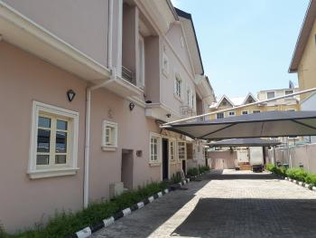 Self Serviced 5 Bedroom Terrace with a Room Bq, Parkview, Ikoyi, Lagos, Terraced Duplex for Rent