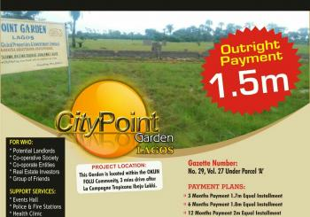 Citipoint Garden, 2 Minutes Drive From Lacapaign Tropicana Resort, After Dangote Refinery., Arapagi Oloko, Ibeju Lekki, Lagos, Mixed-use Land for Sale