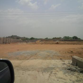 Fenced Commercial Landuse, Along Kubwa-gwarimpa Expressway, Kubwa, Abuja, Commercial Land for Sale