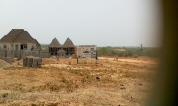 a Table Land for 5 Bedroom Duplex, Sunbuilt Estate Along Kubwa Express, Kagini, Abuja, Residential Land for Sale