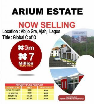 Land  for Sale at Arium  Estate Abijo Gra, Arium Estate, Abijo Gra, Ajah, Lagos, Residential Land for Sale