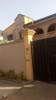 Newly Renovated Supper 3 Bedrooms Flat with All Round Tiles, Security House, Tarred Compound Etc, Adekoya Estate, Off College Road, Ogba, Ikeja, Lagos, Flat for Rent