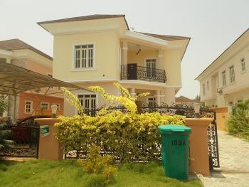 Self Finished 5 Bedroom Luxury Detached Duplex with 2 Staff Quarters + Amazing Green Plants and Trees, Carlton Gate Estate, Chevron Drive, Lekki Expressway, Lekki, Lagos, Detached Duplex for Sale