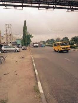 a Solid One and Half Plot of Land, Agege Motor Road, Shogunle Bus Stop, Shogunle, Oshodi, Lagos, Commercial Land for Sale