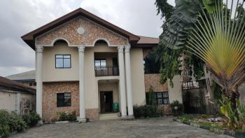Luxury 6 Bedroom Storey Building with a Gen & Security House, Alcon Road, Woji, Obio-akpor, Rivers, Terraced Duplex for Sale