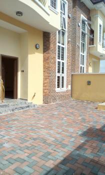 4bedroom with Bq in a Serviced Mini Estate, Leakpointer Estate, Lekki Expressway, Lekki, Lagos, Semi-detached Duplex for Rent