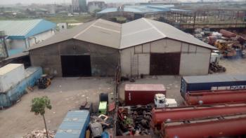 Industrial Property Via 2 Bays with Office Building on Five Floors with Bonded Warehouse, Amowo Odofin Industrial, Amuwo Odofin, Isolo, Lagos, Warehouse for Sale