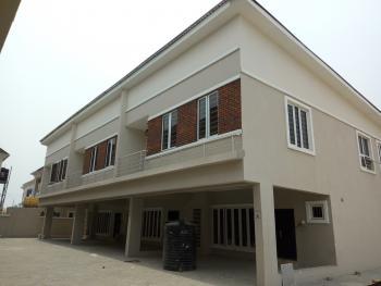 Exquisite 4 Bedroom Terrace Duplex, Orchid Road, Near Chevron, Chevy View Estate, Lekki, Lagos, Terraced Duplex for Sale