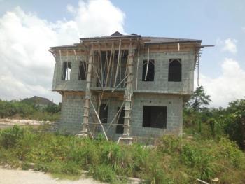4 Bedroom Fully Detached Duplex with a 2 Bedroom Fully Detached Duplex Behind (both Carcass), Beachwood Estate, Bogije, Lekki Expressway, Lekki, Lagos, Detached Duplex for Sale