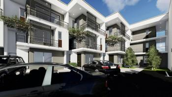 Beautiful 9 Units, 4 Bedrooms Luxury Townhouses with Service Quarters, Off Edwin Clark Way, Near Coza Church, Guzape District, Abuja, Terraced Duplex for Sale