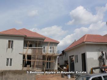 Freshly Built 5 Bedroom Duplex All Ensuit with Its Boys Quarters, Republic Estate, Independence Layout, Enugu, Enugu, Detached Duplex for Sale