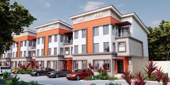 Exquisite 4 Bedroom Semi Detached Terrace, Guzape District, Abuja, Terraced Duplex for Sale