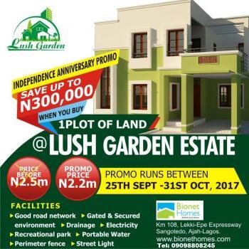 Dry Land with Approved Excision – Lush Gardens Estate, Ibeju Lekki, Ibeju Lekki, Lagos, Mixed-use Land for Sale
