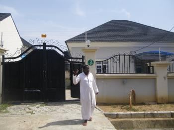 3 Bedroom + 2 Room Bq, Mohammed Nnamadi Sabo Way, Karmo, Abuja, Detached Bungalow for Rent