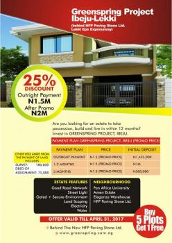 Land with Global Certificate of Occupancy, Oceanwood Courts, Ibeju Lekki, Lagos, Land for Sale