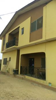a Block of 4 Units 3 Bedroom Flats, Fenced Round with Gate, 3 Toilets and Baths Each, Major Bus Stop, Ijegun Rd, Ikotun, Lagos, Block of Flats for Sale