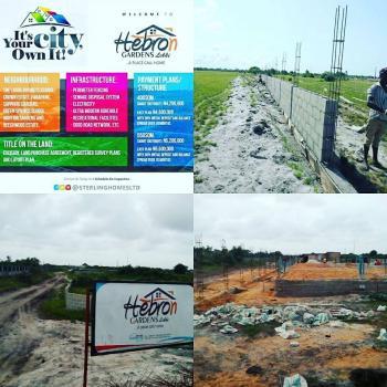 Plots of Land with Perfect Title., Hebron Gardens, Awoyaya Road, Awoyaya, Ibeju Lekki, Lagos, Residential Land for Sale