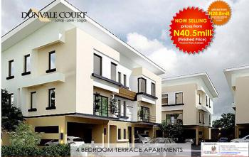 Secure a Unit | 4 Bedroom Terrace Apartments, Dunvale Court, Lafiaji (after Orchid Hotel By Second Toll Gate), Lekki, Lagos, Terraced Duplex for Sale